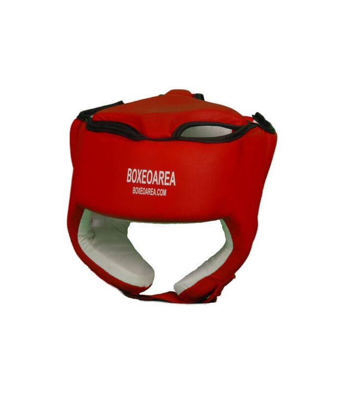 Casco Boxeo Rojo