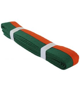 Belt, Martial Arts Orange Green