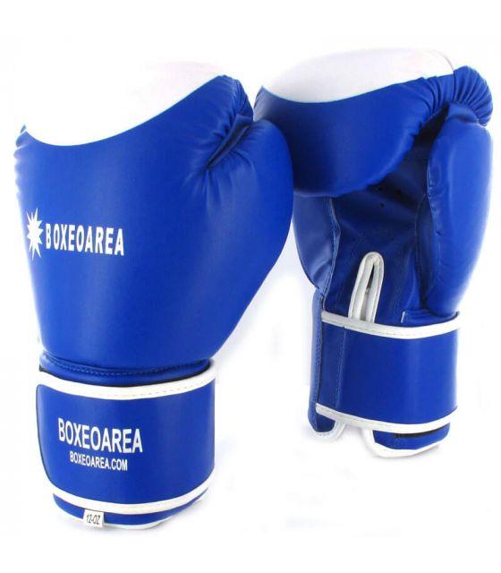 Guantes de Boxeo BoxeoArea 124 Azul BoxeoArea Guantes de Boxeo Boxeo Tallas: 10 oz, 12 oz