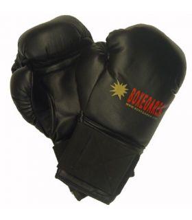 Boxing gloves BoxeoArea 1806 Black Leather BoxeoArea Boxing Gloves Boxing Sizes: 12 oz; 10 oz; Color: black
