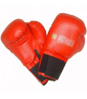 Boxing gloves BoxeoArea 1807 Red BoxeoArea Boxing Gloves Boxing Sizes: 10 oz, 12 oz; Color: red