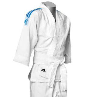 Adidas Kimono Judo J500 Adidas Kimonos Judo Sizes: 160 cm, 170 cm, 180 cm, 190 cm; Color: white