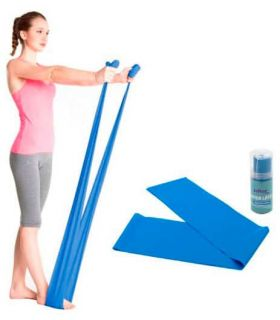 Softee Band Latex mdf 1.5 m Softee Accessories Fitness Fitness Color: blue