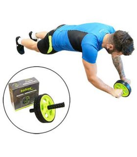 Softee Wheel Abs Softee Banks, and Abdominal Fitness Color: black