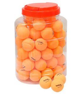 Game 60 Balls Table Tennis 3-Star Orange
