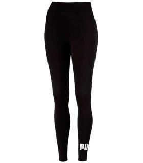 Puma Essentials Logo Leggings-Black Puma Mesh running Textile Running Sizes: xs, s, m, l; Color: black