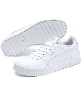 Puma Carina L White Puma Shoe Women's Casual Lifestyle Sizes: 37, 37,5, 38, 38,5, 39, 40, 36, 41; Color: white