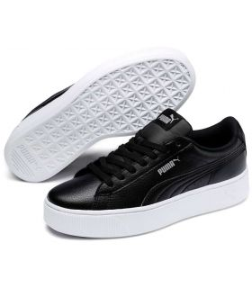 Puma Vikky Stacked Black Puma Shoes Women's Casual Lifestyle Sizes: 38, 39, 40,5, 41; Color: black