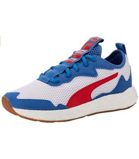Calzado Casual Junior - Puma NRGY Neko Skim Jr blanco Lifestyle