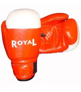Gants de boxe Royale de 1803 en cuir rouge