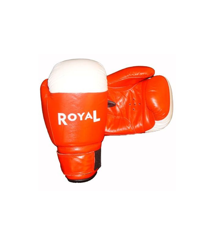 Boxing gloves Royal 1803 leather red