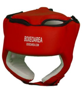 Helmet Red Boxing